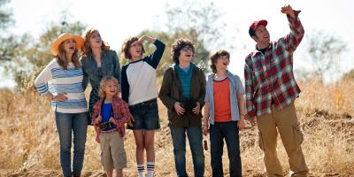 Jim et Lauren avec les enfants