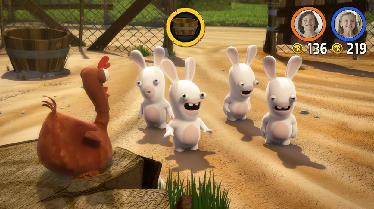 Rabbids invasion the interative tv show ps4