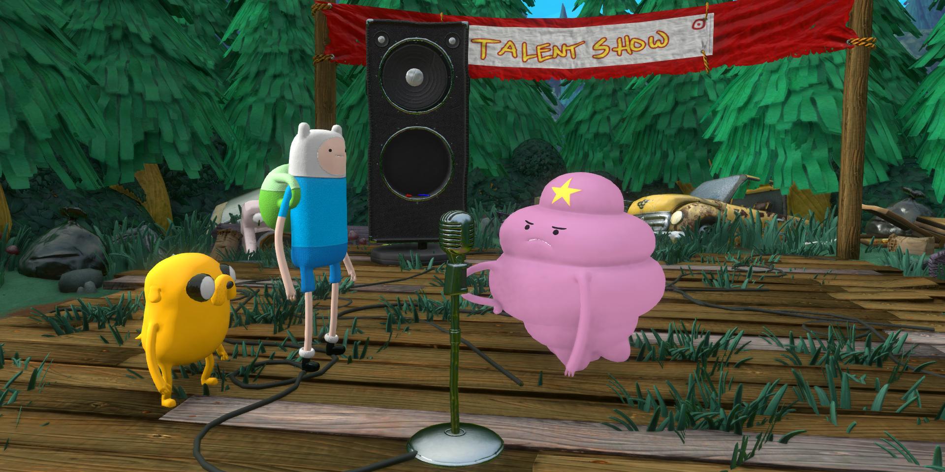Interactive Room Design Adventure Time Finn And Jake Investigations Ps4 Zavvi