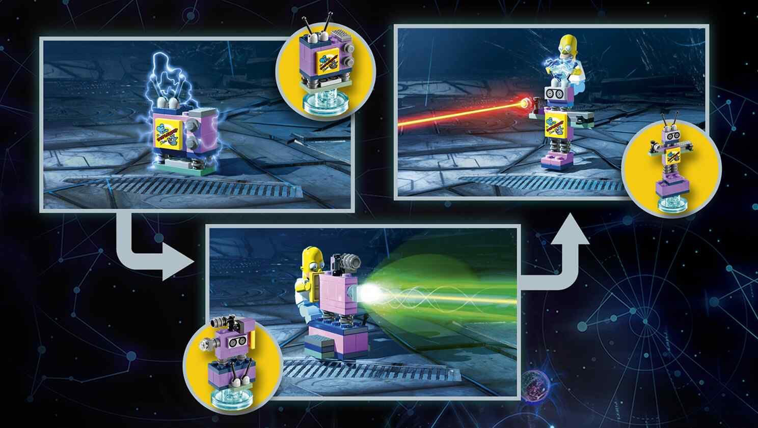 Lego Dimensions Homer S Car Instructions