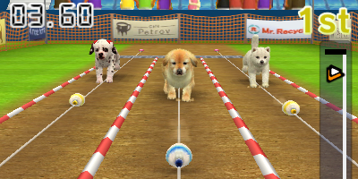 how to start new game on nintendogs