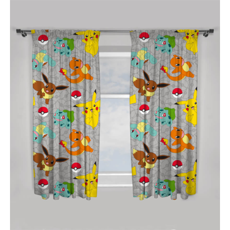 Pok 233 Mon Characters Curtains Nintendo Official Uk Store