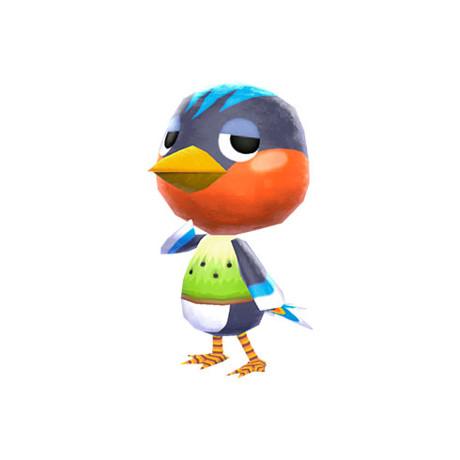 content bird