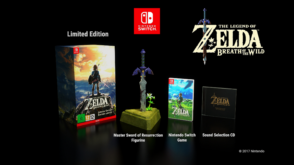 The Legend of Zelda: Breath of the Wild (Limited Edition) + T-Shirt  (Nintendo Switch)