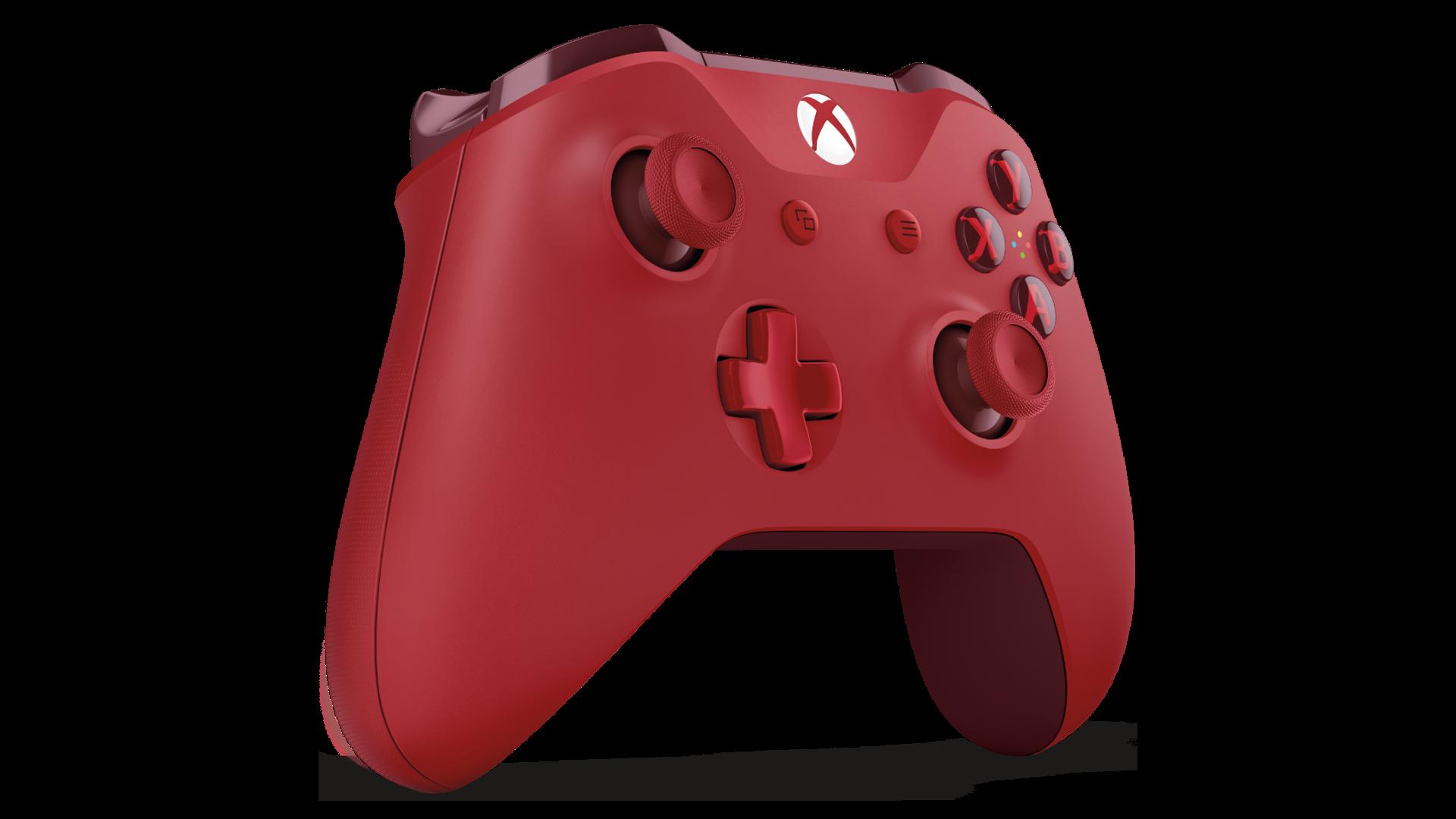 Xbox One Wireless Controller - Red   TheHut.com