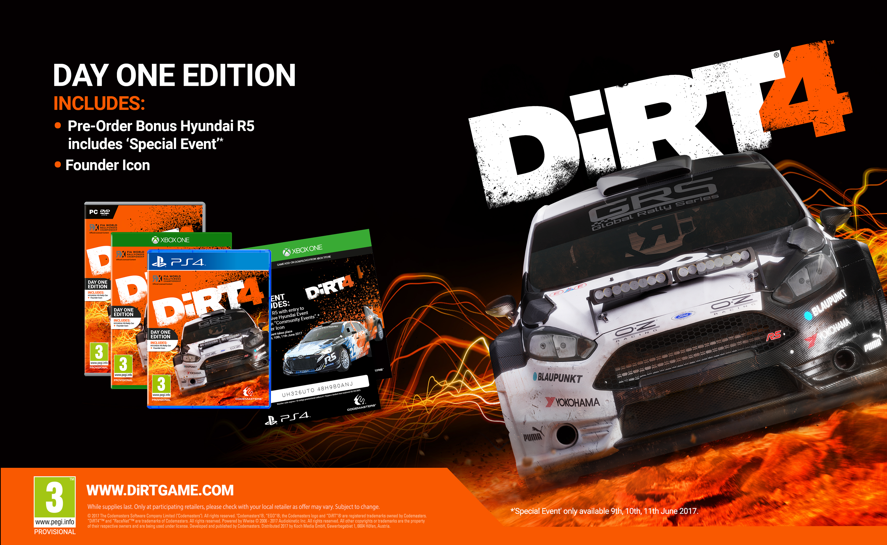 dirt 4 ps4. Black Bedroom Furniture Sets. Home Design Ideas