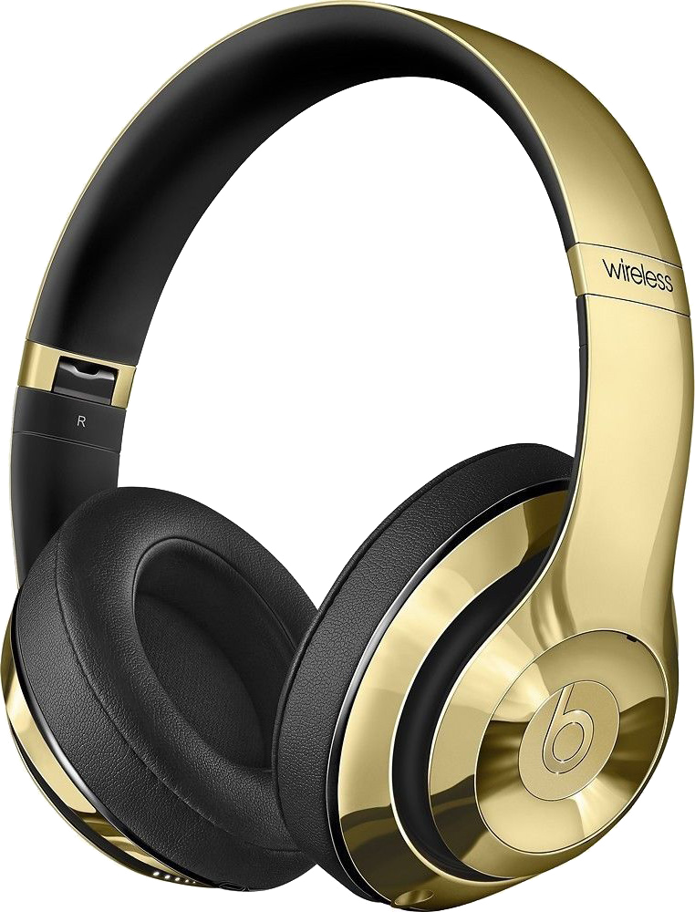 Beats by Dr  Dre Limited Edition Wireless Bundle - Studio 2 0 Headphones  and Pill 2 0 - Metallic Gold