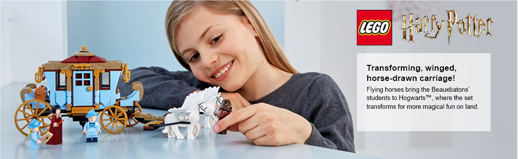 child playing with model on the app