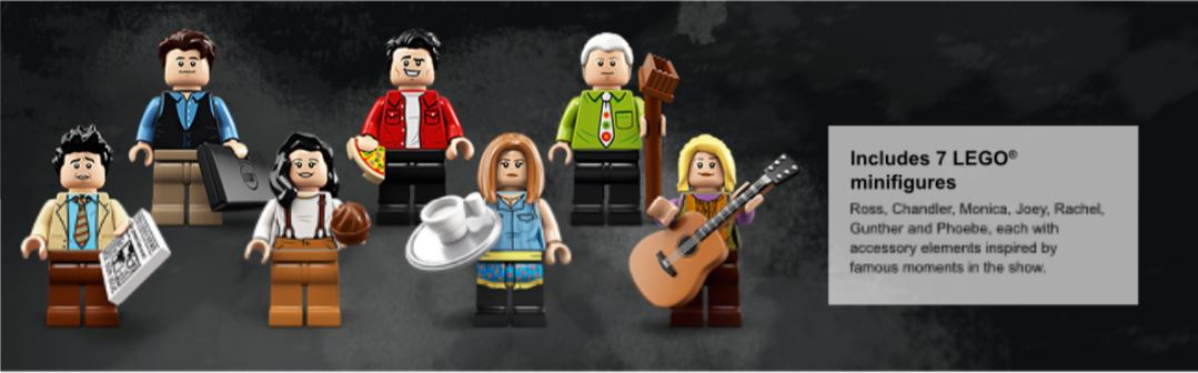 Close up of Minifigures