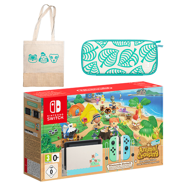 Nintendo Switch Animal Crossing New Horizons Edition Tote Bag