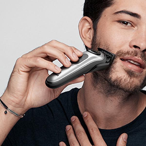 Short to medium beards & hair clipping