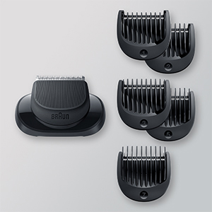 Trimmer head combs