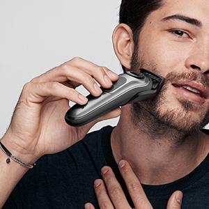 Long beard trimming