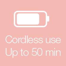 Cordless use