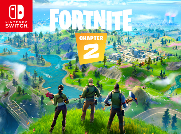 Nintendo Switch Fortnite Special Edition Promo Artwork