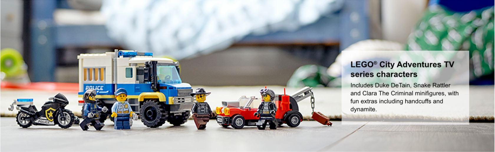 Police prisoner transport set