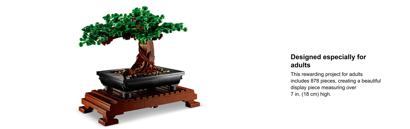 lego bonsai tree