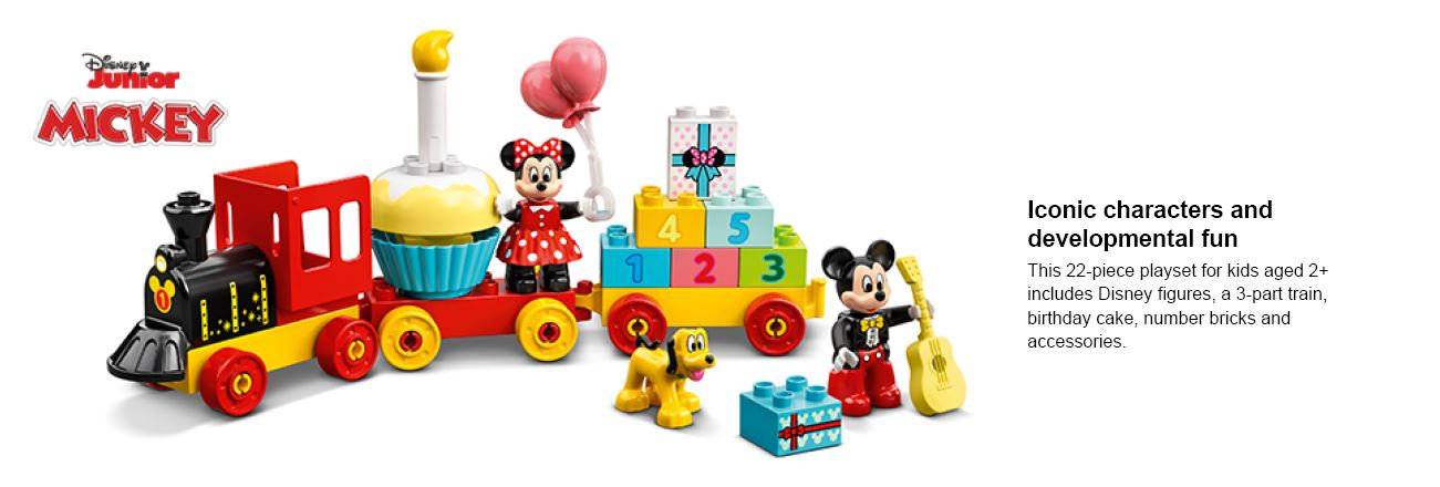 shows lego micky mouse and mini mouse