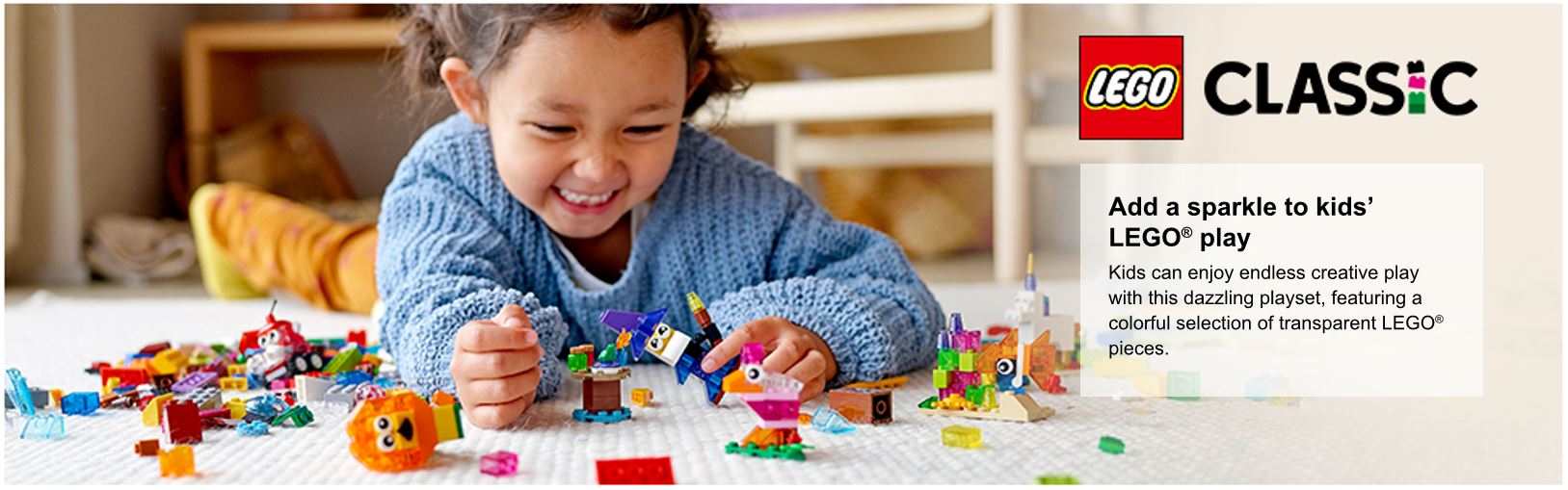 child playing with lego pieces