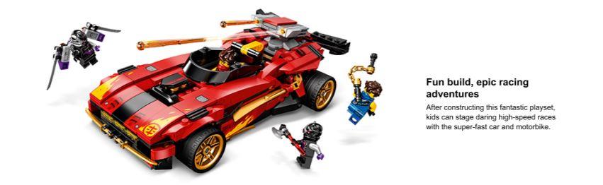 lego ninja car