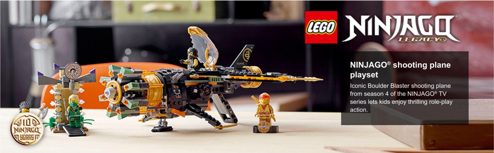 lego ninja plane set