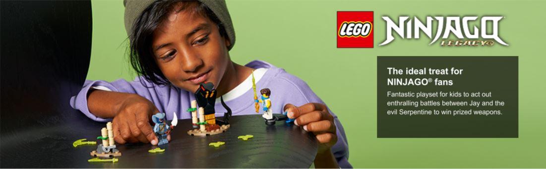 lego ninja figures