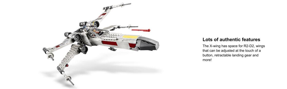 lego star wars plane