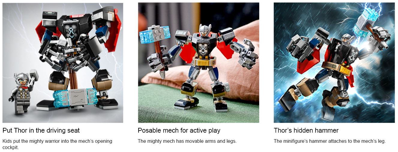 Spiderman lego action shots
