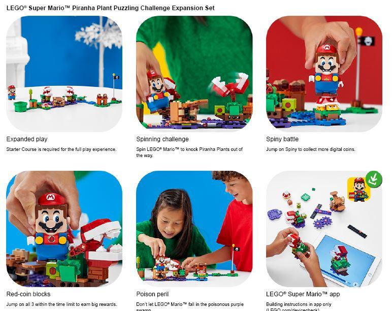 showing lego pirana puzzle expansion set