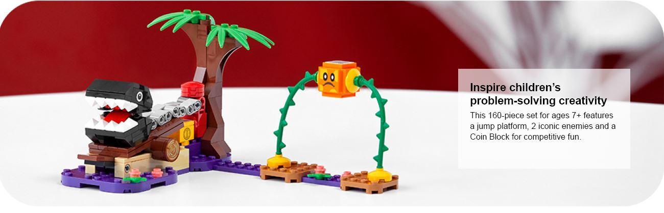 close up of lego coinblocker