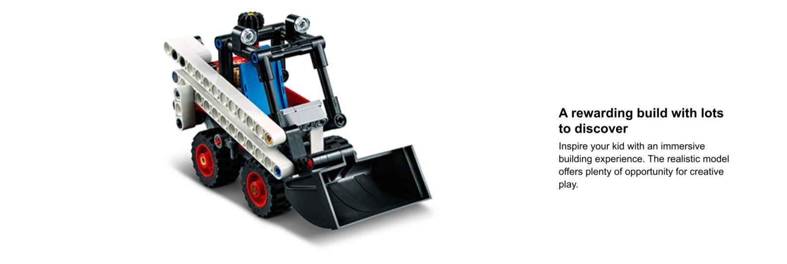 lego loader action shot
