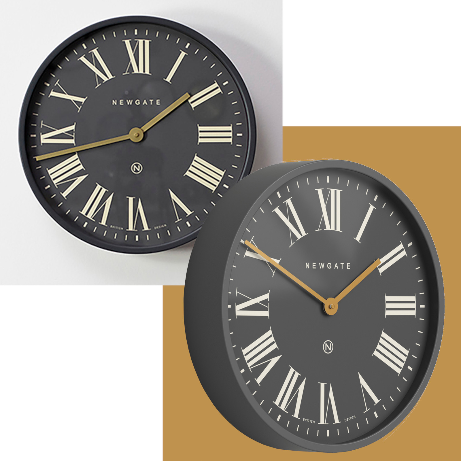 Close up of Clock Features
