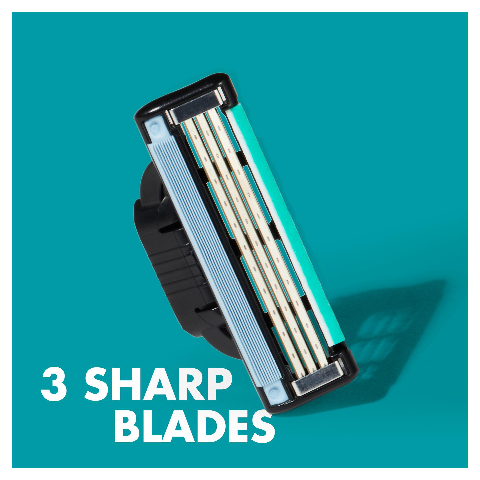 3 Sharp blades