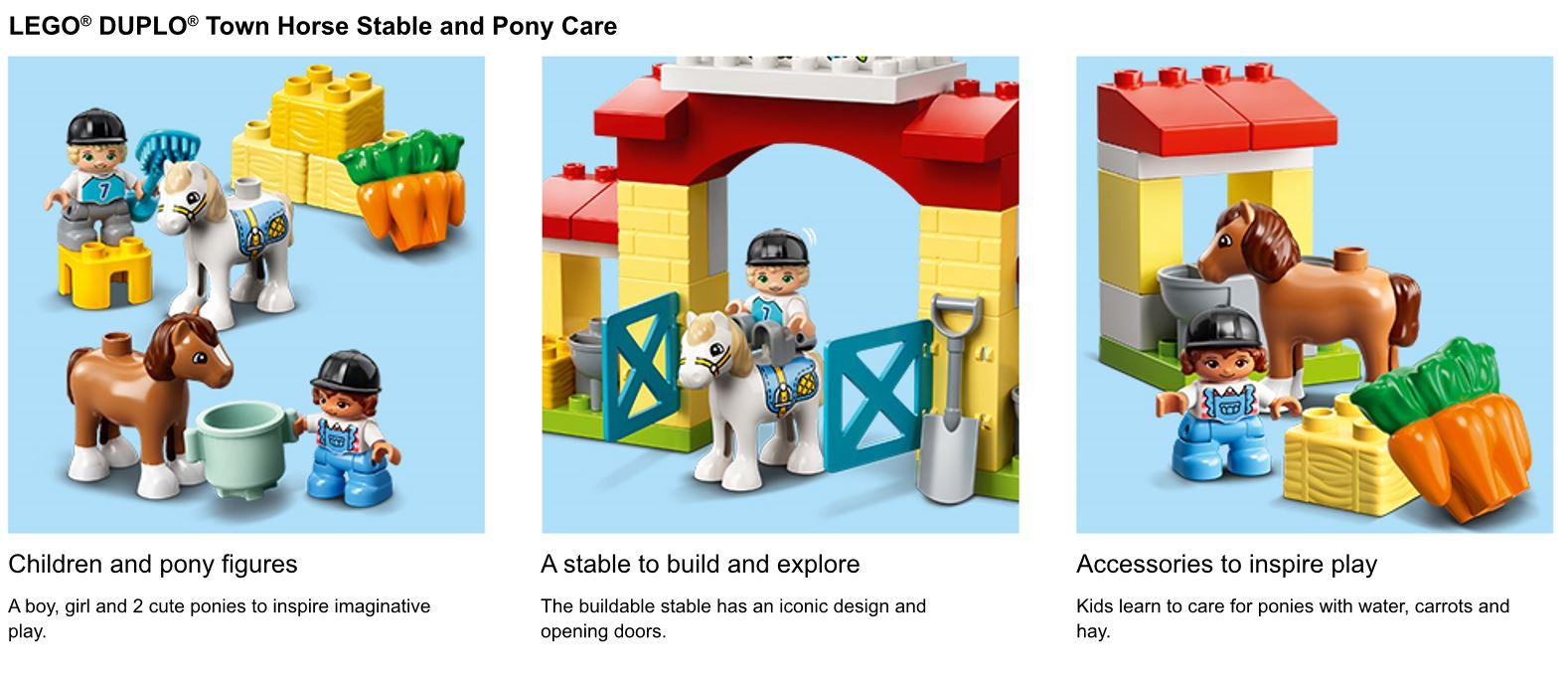 action shots of LEGO set
