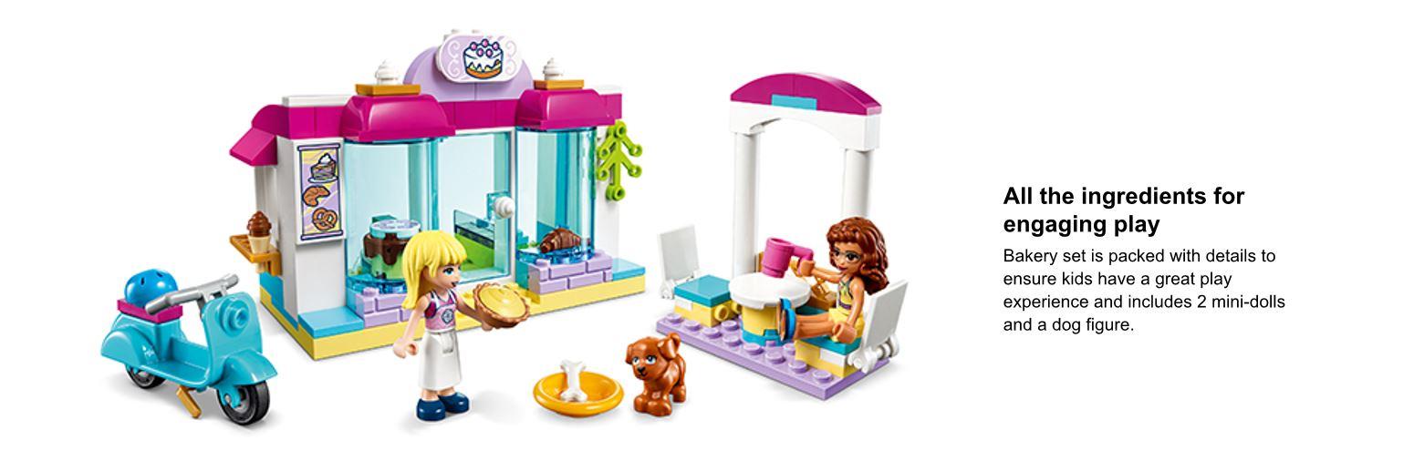 close up of the LEGO set
