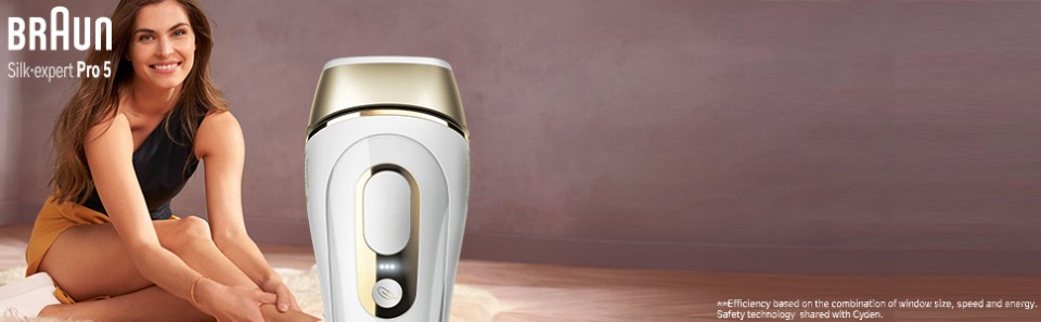 The safest, fastest and most efficient IPL for visible permanent hair removal