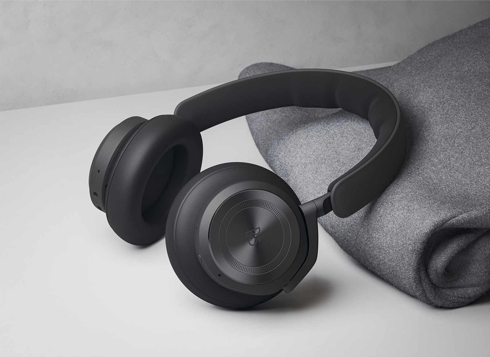 close up headphones