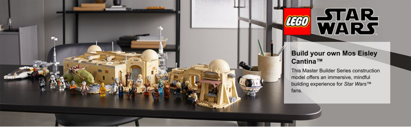 Build your own Mos Eisley Cantina