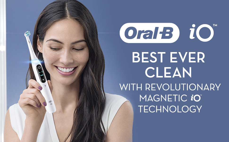 best ever clean with revolutionay Magnetic iO Technology