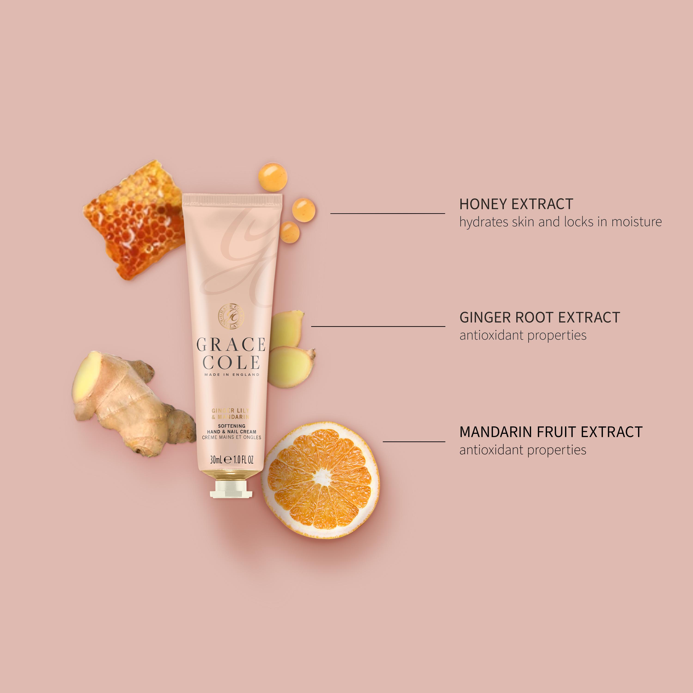 Ginger Lily & Mandarin Hand & Nail Cream