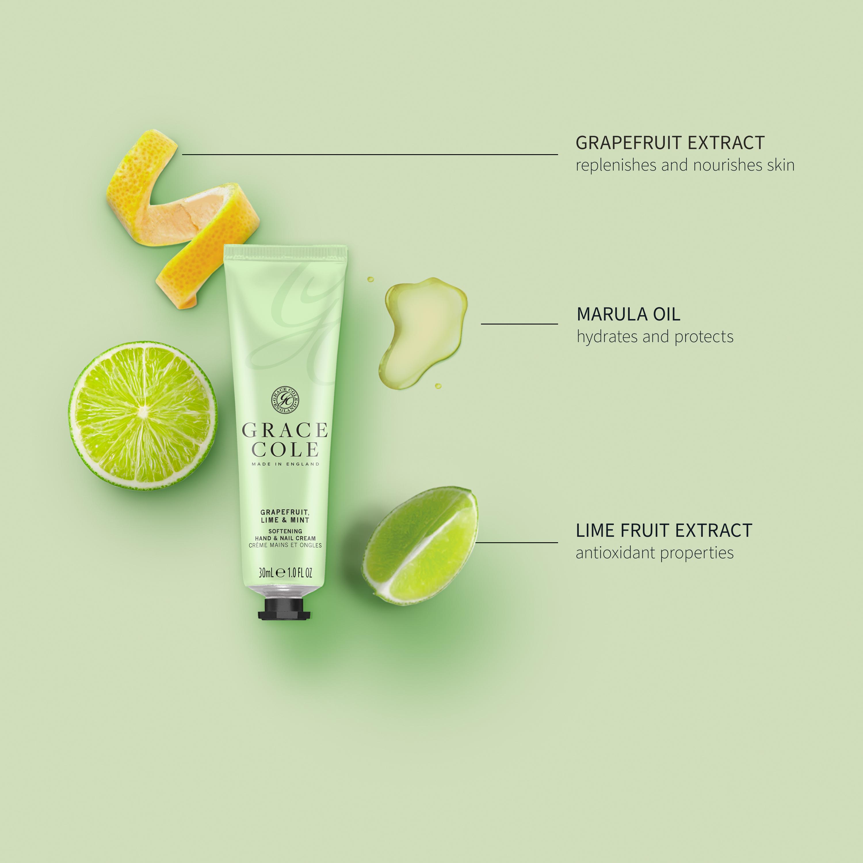 Grapefruit Lime & Mint Hand & Nail Cream