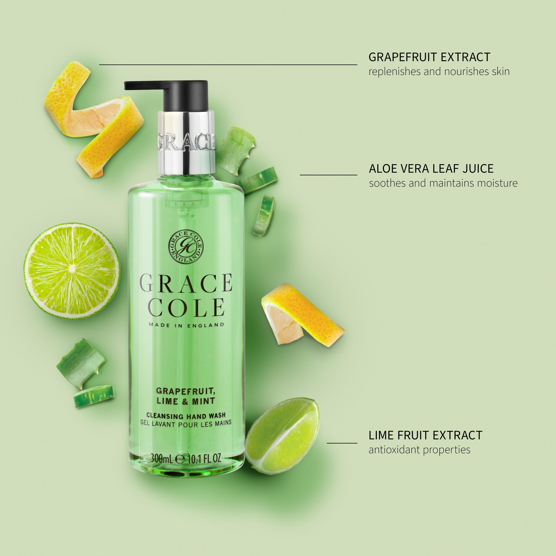 Grapefruit Lime & Mint Hand Wash