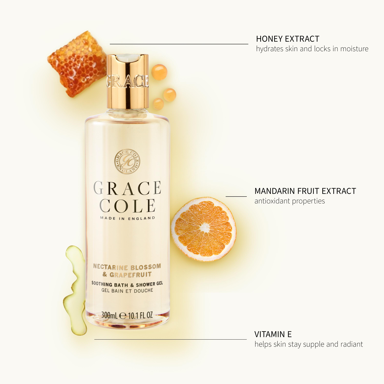 Nectarine Blossom & Grapefruit Bath & Shower Gel