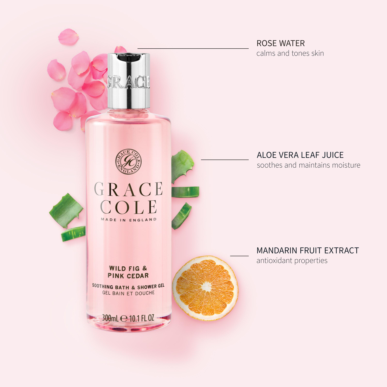 Wild Fig & Pink Cedar Bath & Shower Gel
