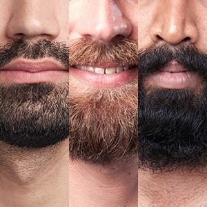 Adaptive motor works even on the densest beards