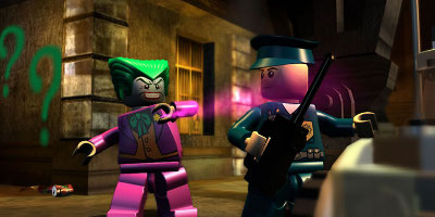 joker and police man