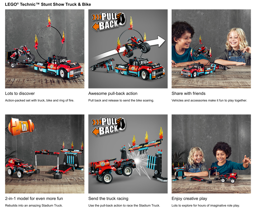 Close ups of Children playing with toy set