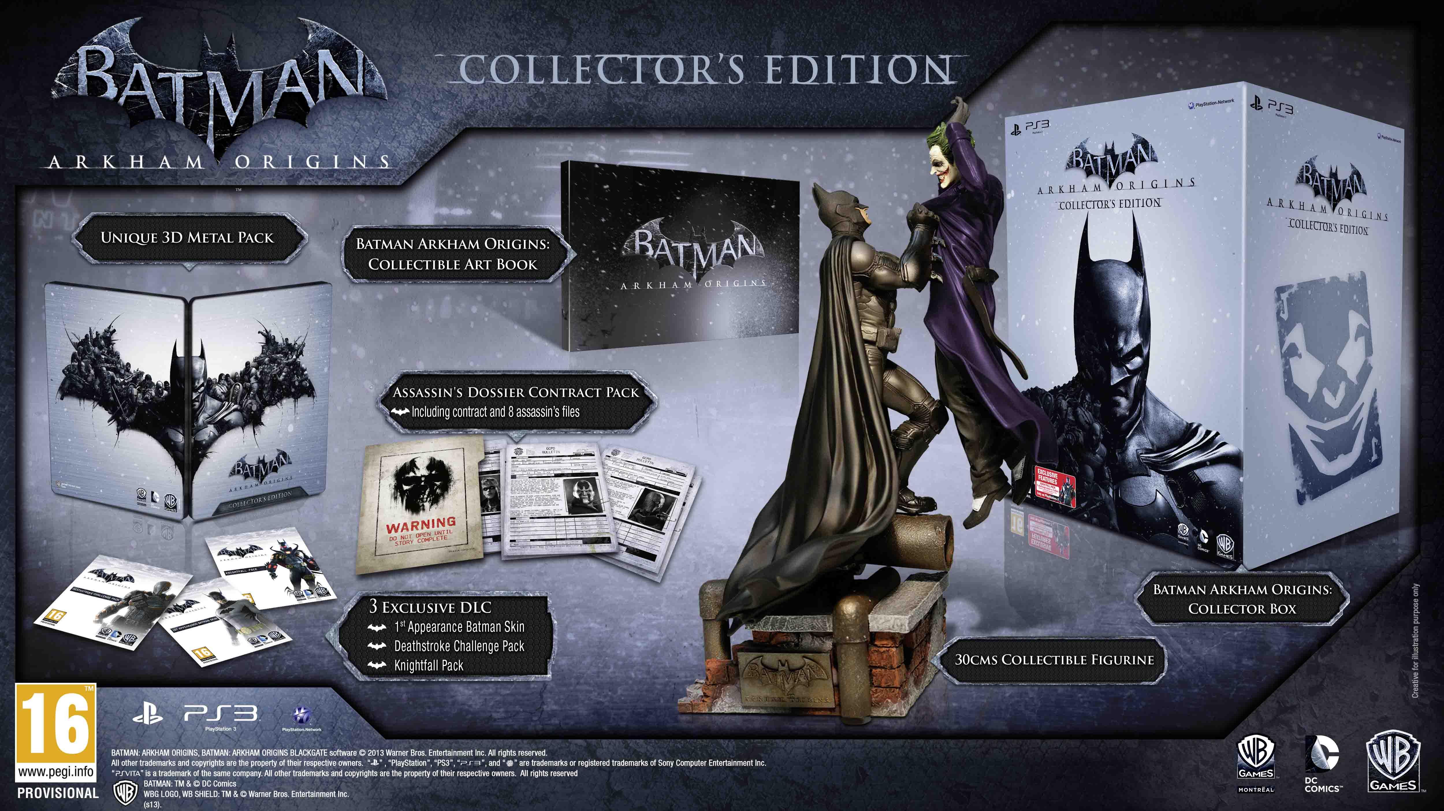 Batman Arkham Origins: Collectors Edition PS3 | Zavvi