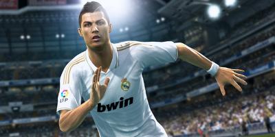 Ronaldo running at screen