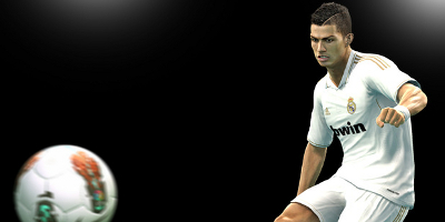 Ronaldo Kicking the ball